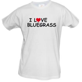 LOVE BLUEGRASS RED